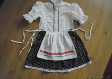 sukňa,blúzka,zastera-folklorné