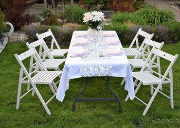 Vybavenie na oslavu, záhradnú párty, svadbu...