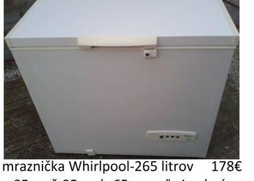 predám mrazničku Whirlpool