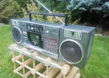Rádiomagnetofón Toshiba