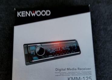 Autoradio Kenwood KMM-125