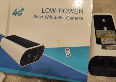 2Mpx solárna 4G/LTE ip kamera aj s batériami 18650