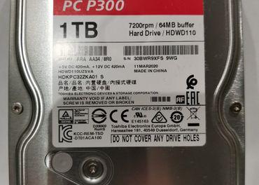 Predám HDD Toshiba 1000 GB, nový