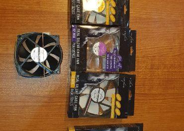 Rozne velkosti tichych ventilatorov(vsetky nove)