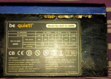 Be quiet e5 400w