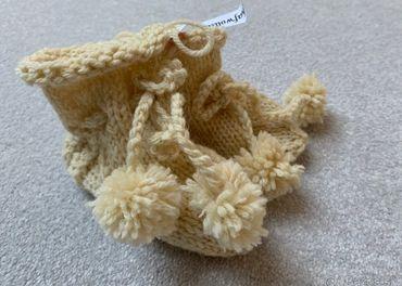 Papučky pre novorodenca