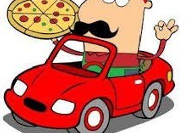 Rozvozár do Pizzérie