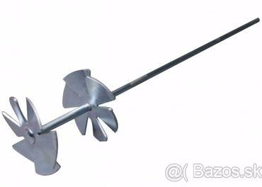 Vrtulka na rozmiešanie tvrdého trusu v áne