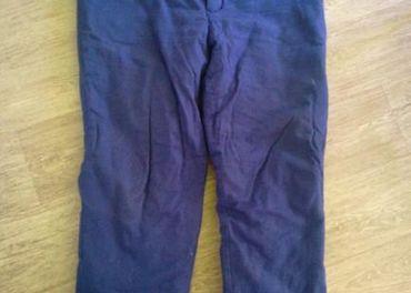 Zateplene monterkove nohavice, veľkosť 54