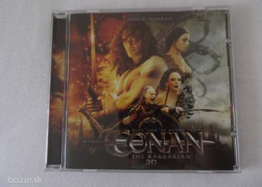 CD-Tyler Bates-Conan The Barbarian-soundtrack
