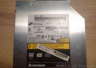 DVD mechaniky pre notebooky - viac kusov