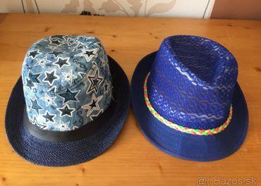 Chlapčenské klobúčiky v. 52 - predám