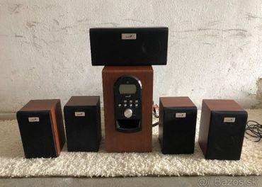 Reproduktory Genius SW-HF 5.1 6000 + zvuková karta