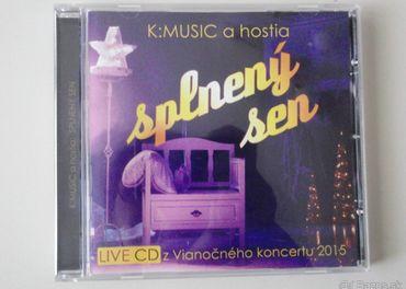 CD Vianočné KMusic - Splnený sen - 7 €