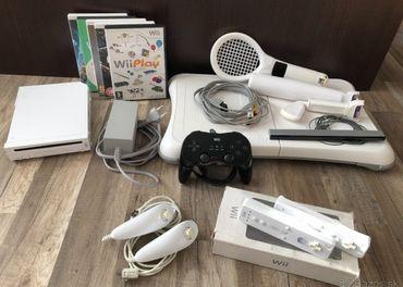 Nintendo Wii + veľa príslušenstva