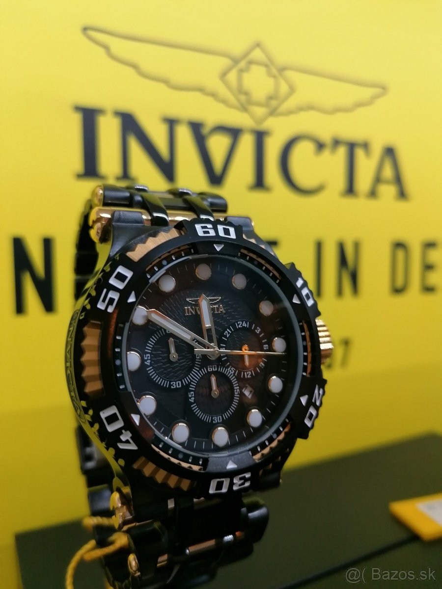 HODINKY INVICTA SPECIALTY MENS QUARTZ BLACK 50MM - 30647
