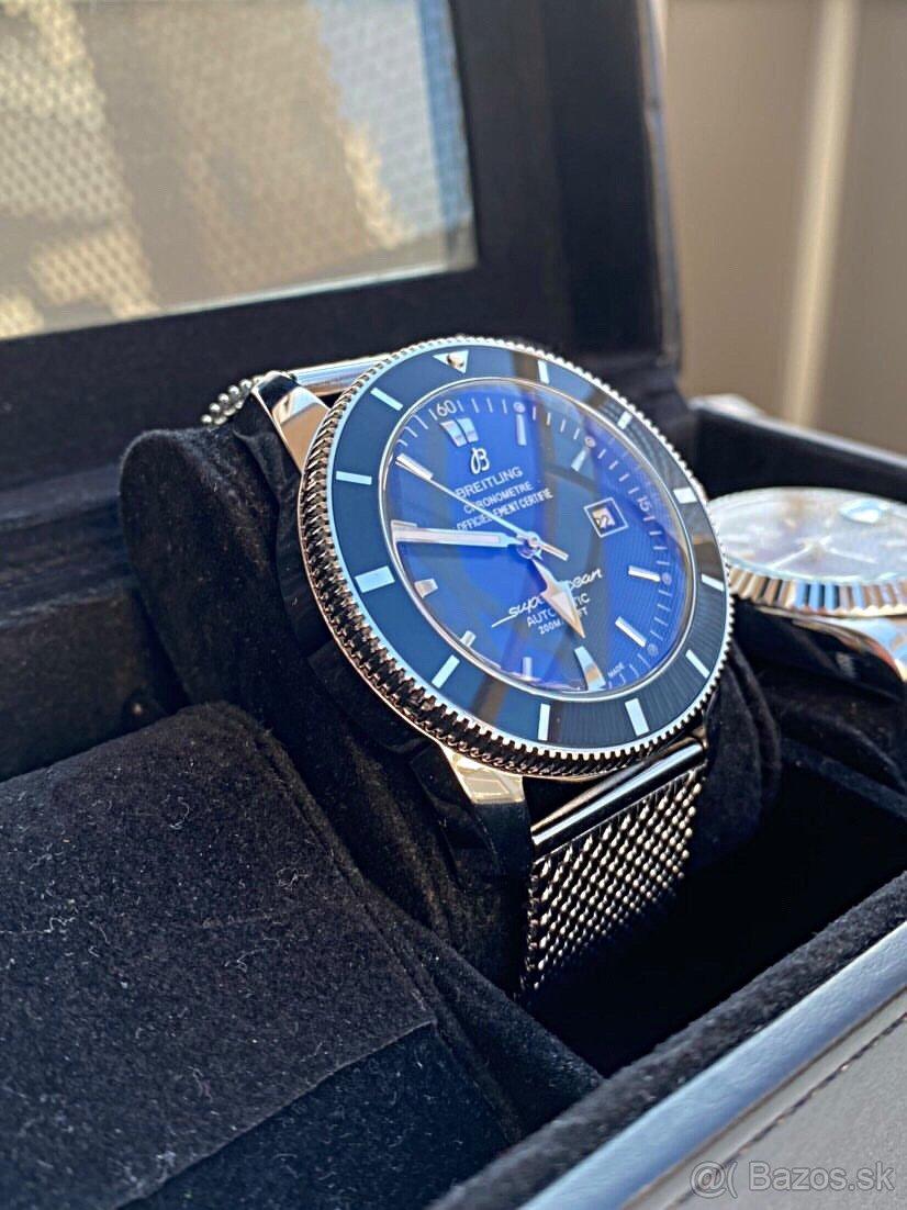Predám luxusné hodinky Breit. Superocean Heritage