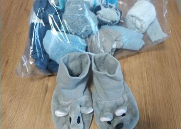 Capačky Lindex+ ponožky od narodenia
