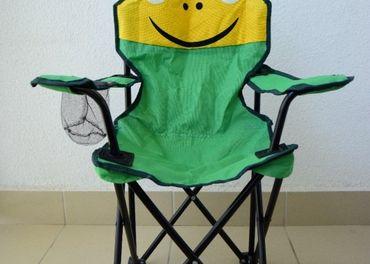 Detská kempingová/záhradná stolička