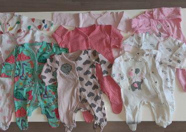 Pyžamá pre dievča, veľ. 56-62 (0-3m)