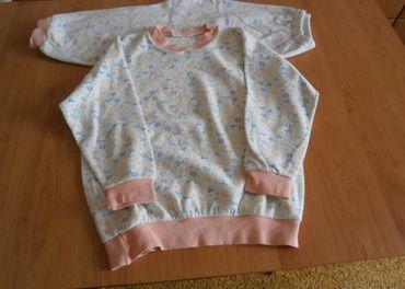 Detské teplé pyžamká - veľ. 104 a veľ.140