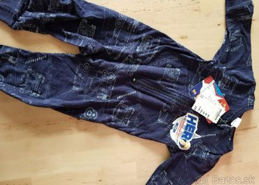 Overal/pyžamo požiarnik Sam v.92 s visackou