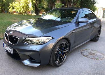 BMW M2 Coupé,kúp.SR,1.majiteľ,r.v.2018,370HP,TOP STAV