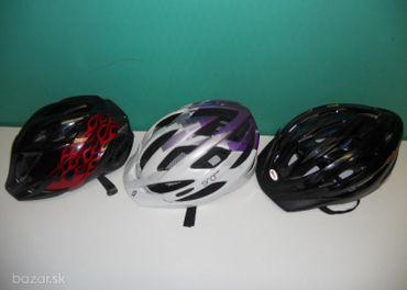 Predám cyklistické prilby nast.,MET,SCOTT.