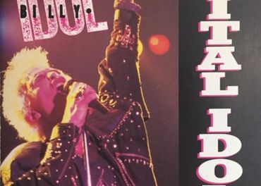 Billy Idol- Vital Idol Chrysalis BMG audio cd 1987