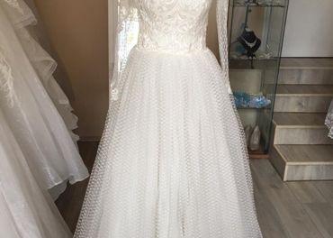 Svadobné šaty vel.34-38.