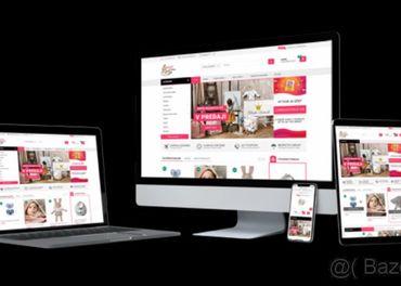 Kvalitná webová stránka alebo eshop na ponikanie