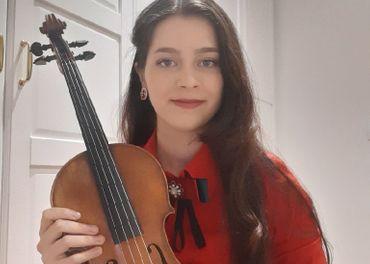 online výučba huslí a spevu