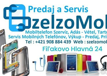 Szelzomobil oprava a servis mobilnych telefonov