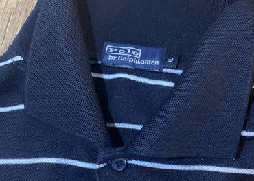 "Pánske modré tričko ""XL"" RALPH LAUREN"
