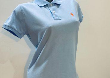 """Modré Polo tričko """"M"""" RALPH LAUREN"""