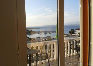 Chorvátsko  s krásnym výhľadom na more 2021