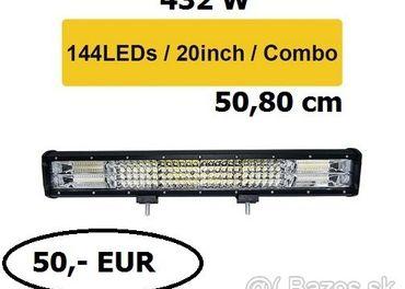 LED rampa (štvorradová + ešte vyšší výkon)