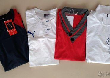 Pánske tričká v. L/XL - nové