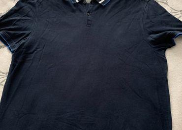 Panska polokosela Calvin Klein tmavo modra XXL