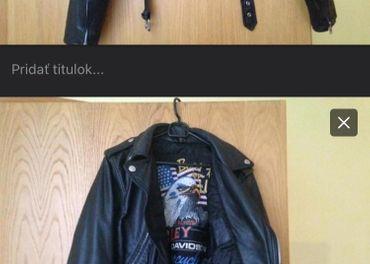 Kožená bunda damska