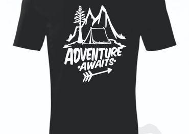 Tričko Adventure Awaits