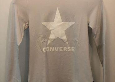 Dámske tričko CONVERSE / krémové / veľ. M