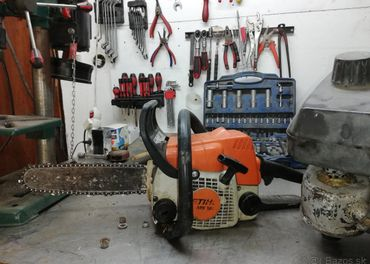 Opravujem motorové píly, kosačky,krovinorezy,rotovátory.