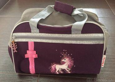 Sportova taska a vrecko na prezuvky STEP by STEP - Unicorn
