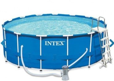 Bazén INTEX 4,57× 1,22 + príslušenstvo