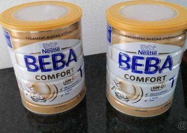 BEBA 1 comfort (nová) + ZDARMA BEBA 1 comfort  (otvorená)