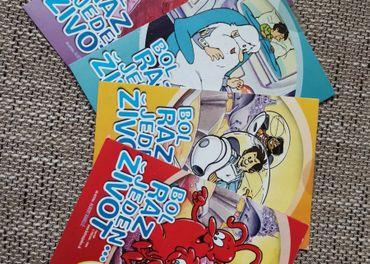 Bol raz jeden život DVD č.1, č.3, č.4 a č.5 - REZERVE