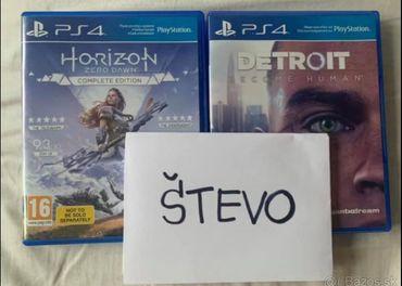 Detroit - horizon zero dawn  ps4
