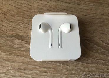 Predám nové originál slúchatka Apple