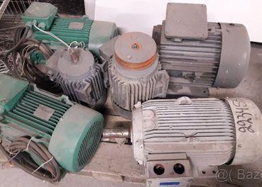 Predam elektromotory na 380 V
